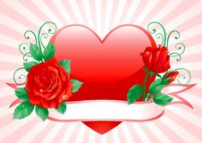 Free Valentines Card Royalty Free Stock Images - 22670019