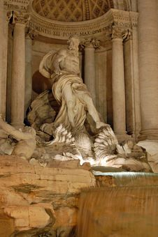 Free The Trevi Fountain, Rome Stock Photo - 22670970