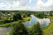 Free The River Ruza Podmoskove Rossija Stock Photography - 22670992
