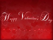 Free Valentine S Day Card Royalty Free Stock Photography - 22672537