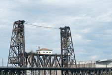 Free Portland Railway Bridge Royalty Free Stock Photos - 22673088