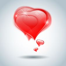 Free Transparent Valentine S Hearts Background Royalty Free Stock Photo - 22673465