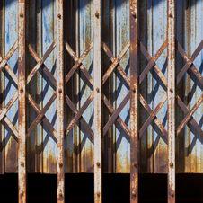 Free Steel Door Stock Image - 22673821