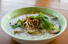Gruel Rice Soup Stock Images