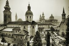 Free View Of Salzburg - HDR Royalty Free Stock Images - 22674749