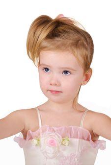 Free Portrait Of Beautiful Little Girl Stock Photo - 22678530