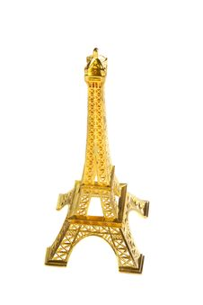 Eiffel Tower Figurine Royalty Free Stock Photos