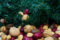 Free Christmas Mixed Nuts Stock Photography - 22686692