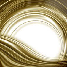 Free White Background And Gold Circular Edge Royalty Free Stock Photo - 22680525