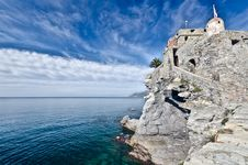 Free Castle Of Camogli, Italy Royalty Free Stock Photography - 22682077