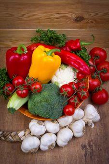 Free Fresh Vegetables Royalty Free Stock Photos - 22683878
