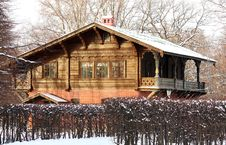 Free Building In Winter Forest Stock Image - 22685191