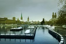 Free Winter In Zurich Stock Image - 22686561