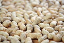 Detail Of Peanuts Royalty Free Stock Image