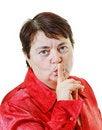 Free Do Not Talking! Royalty Free Stock Photo - 22697225