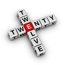 Free 2012 - Twenty Twelve Royalty Free Stock Images - 22692789