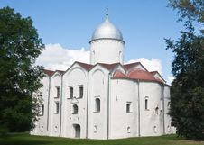 Free Church Of St. John, XII Century.Novgorod The Great Stock Photos - 22693993