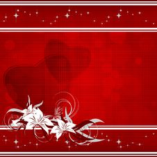 Free Red Valentine S Day Backdrop Stock Images - 22694624