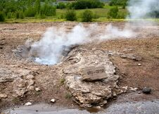 Free Small Geyser Stock Photo - 22694670
