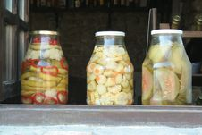 Free Pickled Vegetables Stock Photo - 22699500