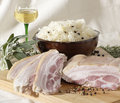 Free Choucroute Ingredients Royalty Free Stock Photo - 2279795