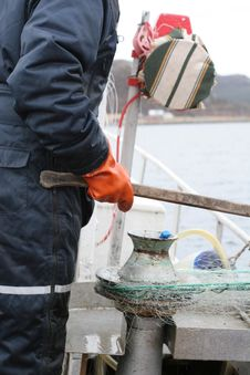 Free Fisherman At Work Stock Photos - 2270603