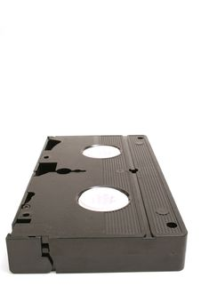 Free Single Vhs Tape Vertical Level Stock Photo - 2271960