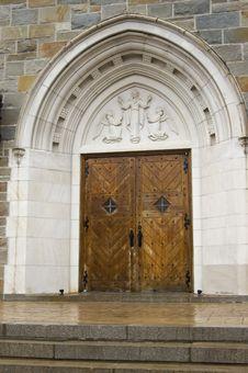 Free Church Entrance Royalty Free Stock Photo - 2272625