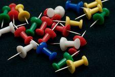 Push Pin Stock Photo