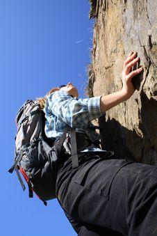 Free Climbing Royalty Free Stock Photo - 2273815