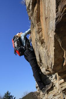 Free Climbing Royalty Free Stock Image - 2273866