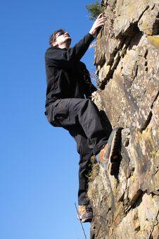 Free Climbing Royalty Free Stock Photos - 2273868