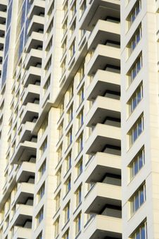 Free Balconies Of The Multi-storey Royalty Free Stock Photo - 2275005