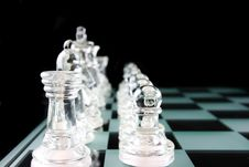 Free Chess - My Valiant Troups Royalty Free Stock Photos - 2275548