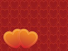 Free Two Hearts Stock Image - 2276421