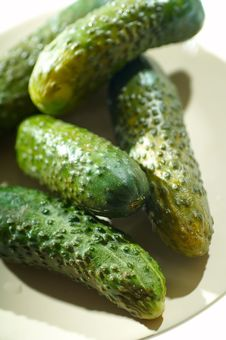 Free Cucumbers Royalty Free Stock Photos - 2276608