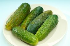Free Cucumbers Royalty Free Stock Photos - 2276618