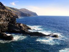 Coastline, Canary Island Stock Photos