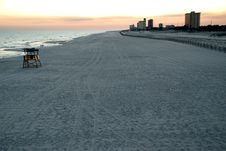 Free Dusk On Pensacola Beach Royalty Free Stock Image - 2276926