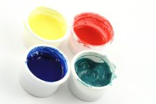 Free Paint Pots Royalty Free Stock Photo - 2277725