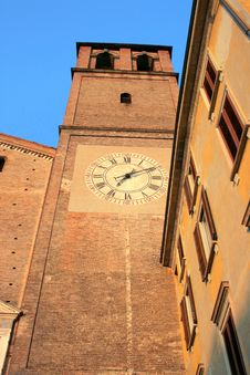 Free Medieval Bell Tower & Clock Royalty Free Stock Photos - 2277868