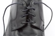 Dress Shoe Ready To Impress Stock Photo