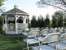 Free Wedding Gazebo Royalty Free Stock Photos - 2279608