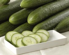 Free Cucumbers Royalty Free Stock Photo - 2279945