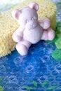 Free Teddy Bear Soap Bar Stock Images - 22702304