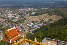 Chinese Cemetery In Thailand. Royalty Free Stock Photo