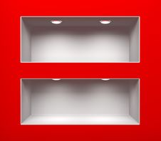 Free Shelving For Exhibit Stock Photography - 22708992