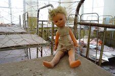 Abandoned Kindergarten In The Village Of Kopachi, Kiev Region, Ukraine. Royalty Free Stock Image