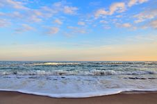 Free Sunset On The Black Sea Royalty Free Stock Images - 22710669