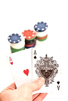 Free Poker 2 Stock Photography - 22713232